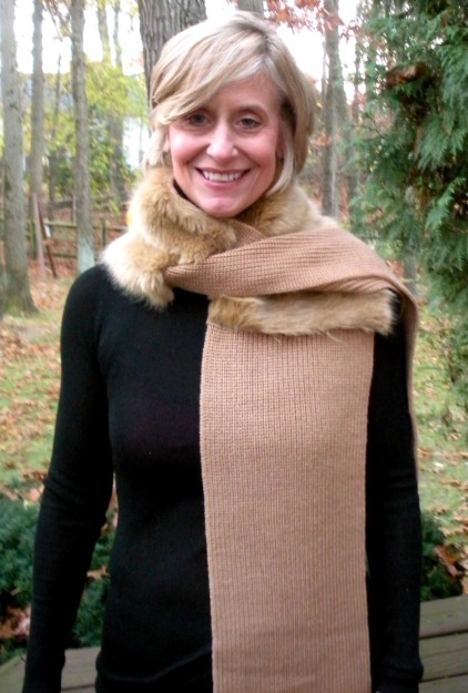 camel scarf-mom